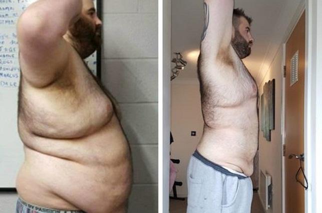 Su novia lo engañó y decidió bajar de peso: Así luce ahora