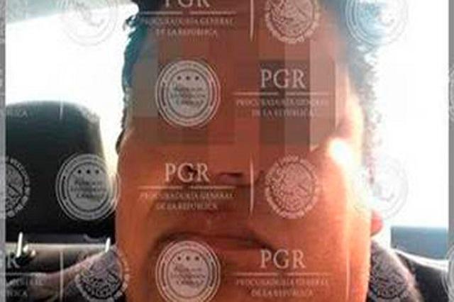 Detienen en Puebla a tratante buscado por la PGR y EU