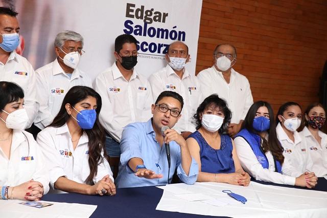 Envia comunicado Edgar Salomón al IEE; pide sanciones