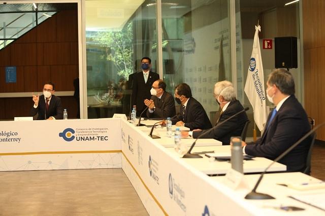Convenio de CEMEX, UNAM y Tec de Monterrey para investigación y desarrollo