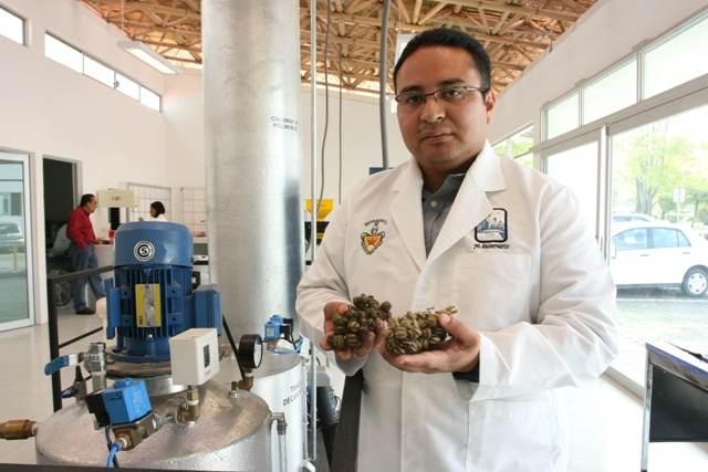 Genera investigador de la BUAP biodiesel a base de higuerilla