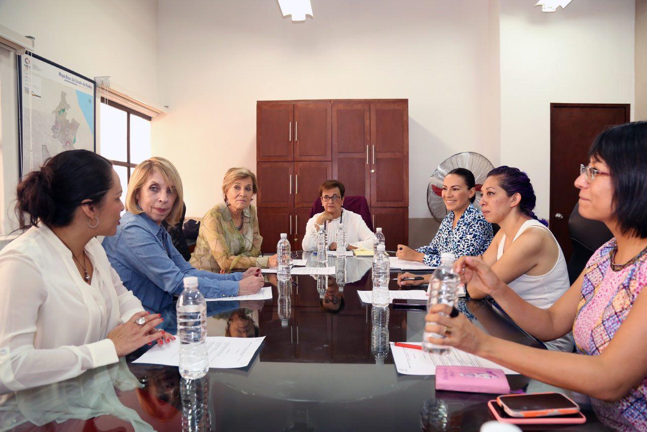 Directora y Consejo consultivo deI IPM tuvieron su primera reunión