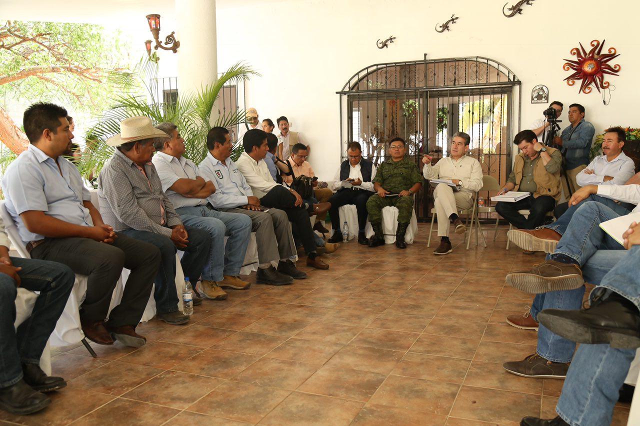SGG y ediles de la Mixteca evalúan acciones de seguridad