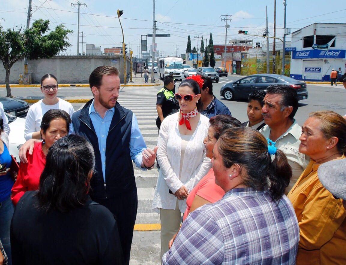 Mejoran movilidad en crucero de 16 de Septiembre y Municipio Libre