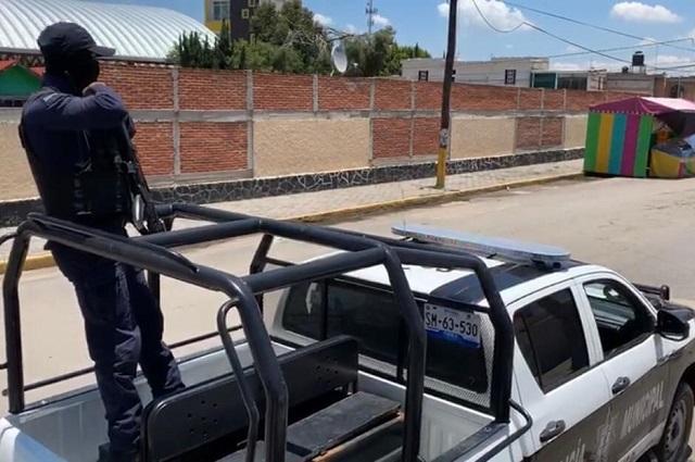 Ayuntamiento de Huejotzingo refuerza su seguridad pública