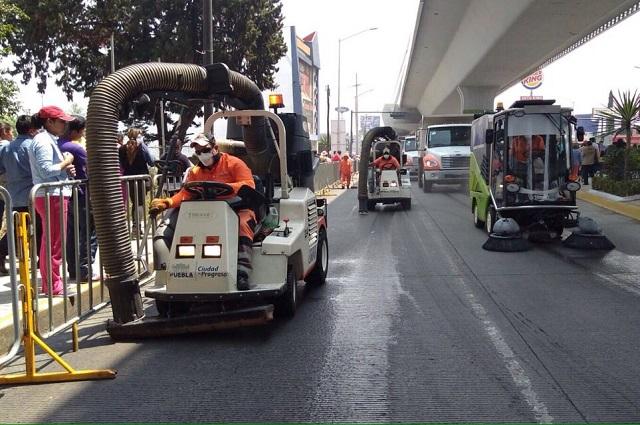 Busca comuna segundo contrato para barrer calles