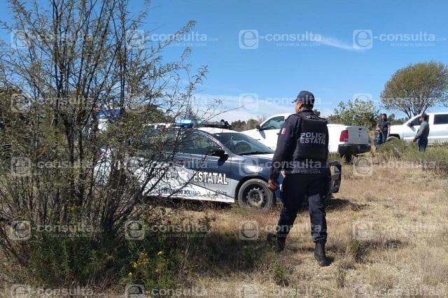 Arrojan los cadáveres de dos mujeres en terrenos de Tepeaca