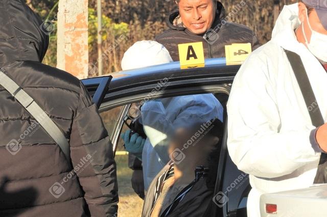 Asaltante mata a su cómplice en un Easy Taxi en Totimehuacan