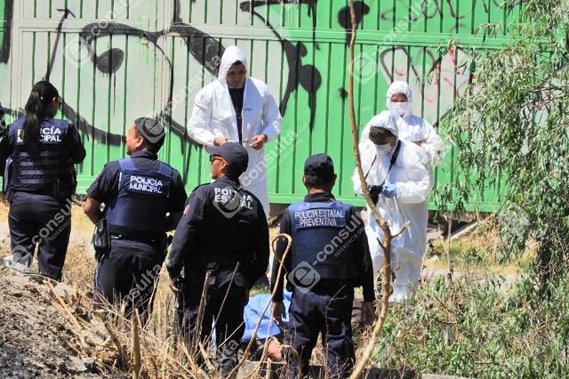 Arrojan cadáver con huellas de tortura junto a los Héroes de Puebla
