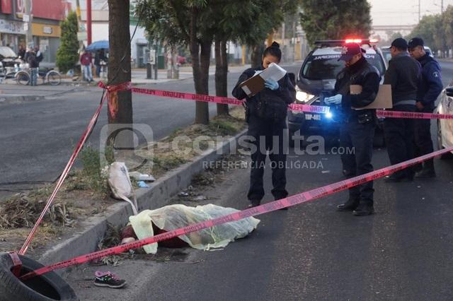 Atropellan y matan a mujer en la federal a Tlaxcala