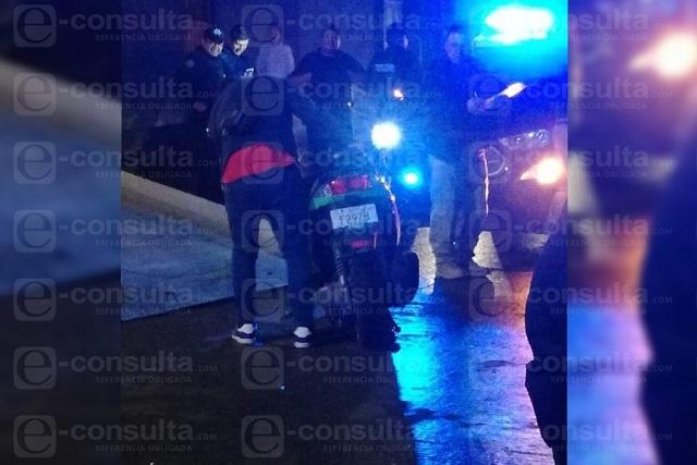 Fallece motocilista tras caer en una coladera sin tapa en Las Torres