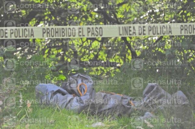Hallan cadáver embolsado junto a escuela de Covadonga