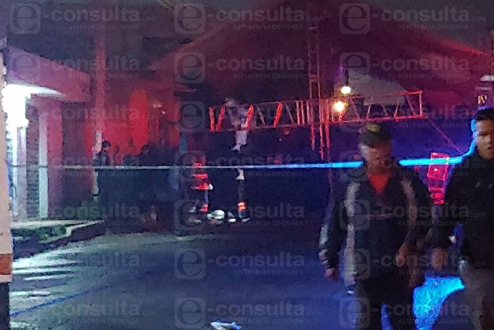 Balacera en baile sonidero deja 3 muertos entre Puebla y Amozoc