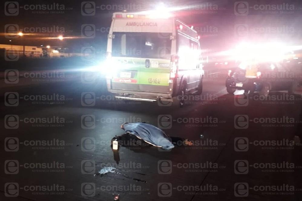 Muere hombre en la Puebla-Orizaba, a la altura de la Vía Corta