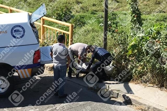 Segundo cadáver embolsado, ahora en 11 Sur y el río Atoyac