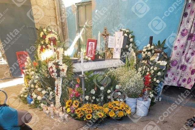Velan a Dalia en San José Los Cerritos; CDH asesora a la familia