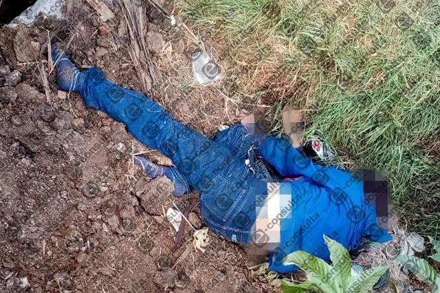 Hallan cadáver maniatado en Bosques de Manzanilla