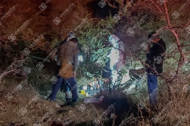 Calcinan cadáver en una barranca de Totimehuacán