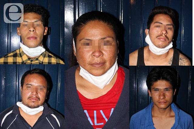 Frustran secuestro de mujer; detienen a 5 en Xochimehuacán
