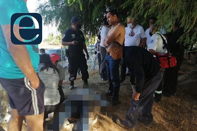 Joven muere ahogado en un jagüey en  Nealtican