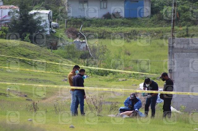 Hallan cadáver con huellas de violencia, en el sur de Puebla