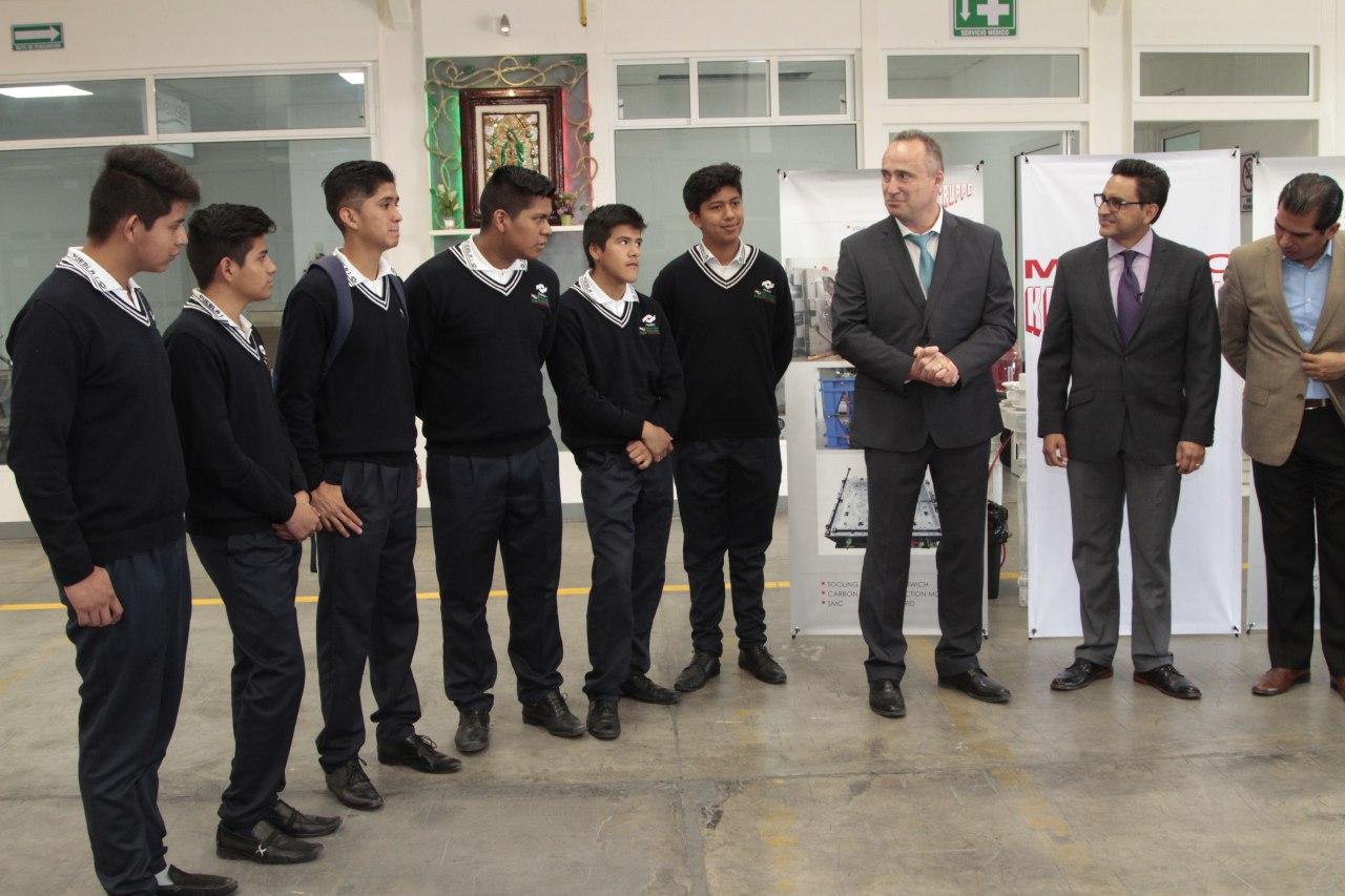Ayuntamiento de Puebla impulsa Modelo Mexicano de Educación Dual