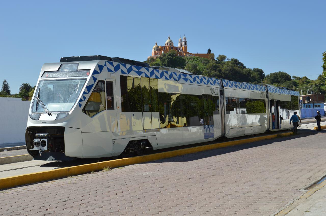 Piden en San Pedro Cholula tarifa preferencial para tren turístico
