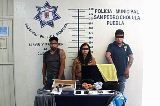 Cae en San Pedro Cholula banda tlaxcalteca por robo de casas