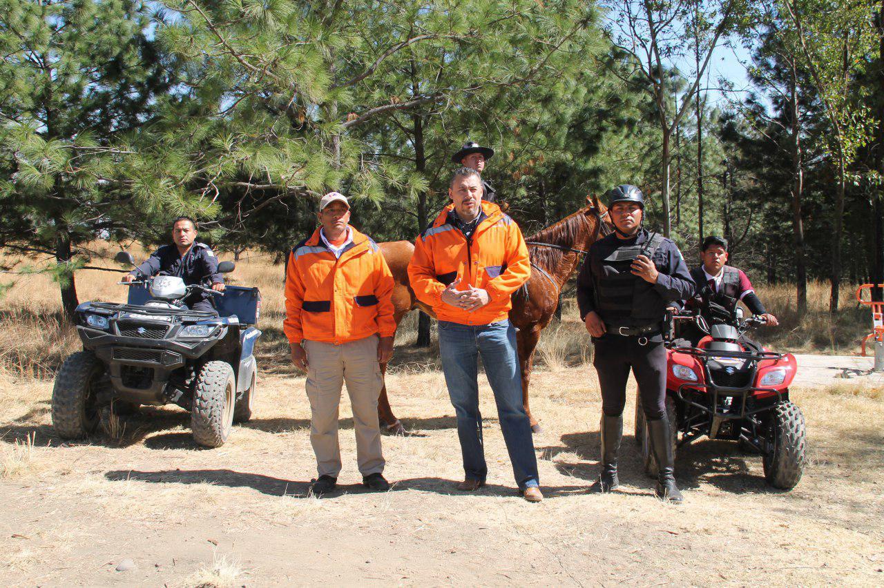 Crea gobierno de San Pedro Cholula unidad de Guardia Forestal