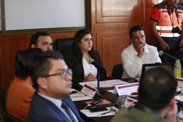 Realizan primera mesa del Comité de Lluvias 2020 en Puebla
