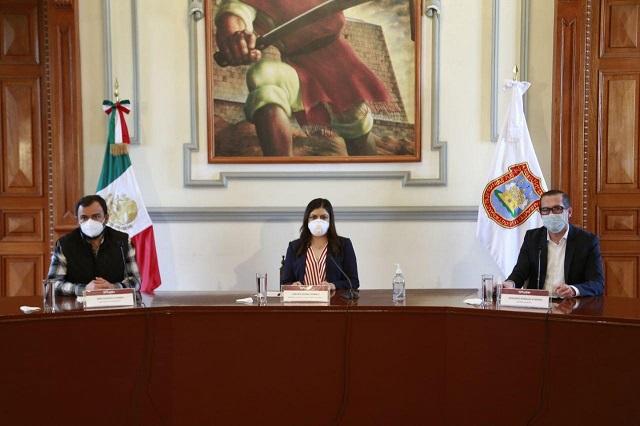 En Puebla capital no hay aún regreso a la normalidad: Rivera