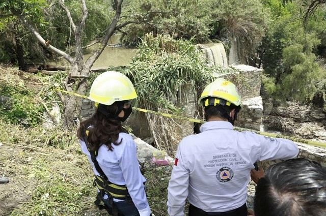 Detectan 412 asentamientos de riesgo por lluvias en Puebla