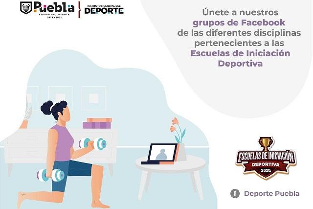 Entrenamiento en línea da Instituto del Deporte capitalino