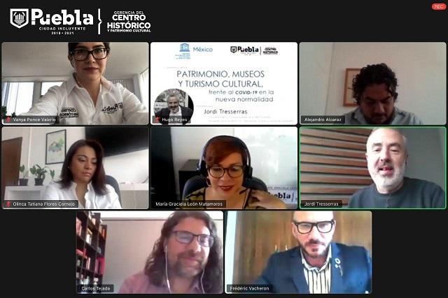 Puebla y Unesco capacitan a funcionarios para reactivar sector cultural