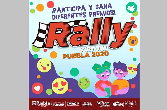 Gobierno capitalino organiza Rally Virtual Puebla 2020
