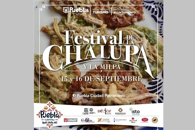 Promueve Ayuntamiento de Puebla tradición de la chalupa