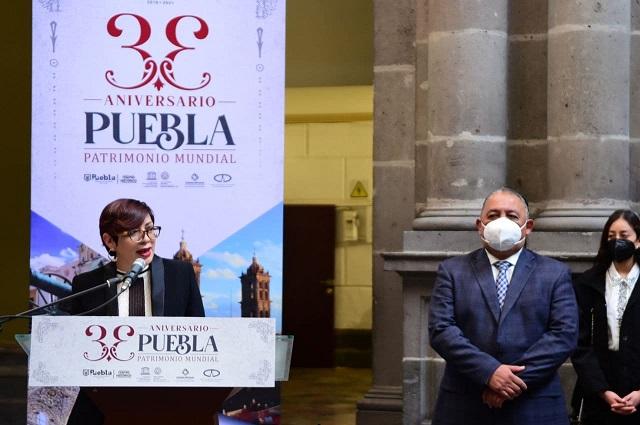 Cumple Centro Histórico de Puebla 33 años como Patrimonio Mundial