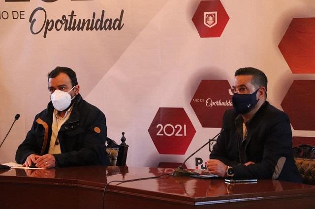 Mantiene Ayuntamiento de Puebla operativos de control sanitario