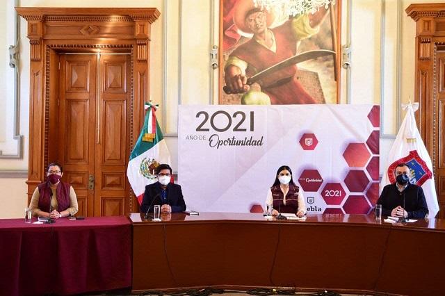 Acción del gobierno en Puebla capital no se distraerá: Rivera