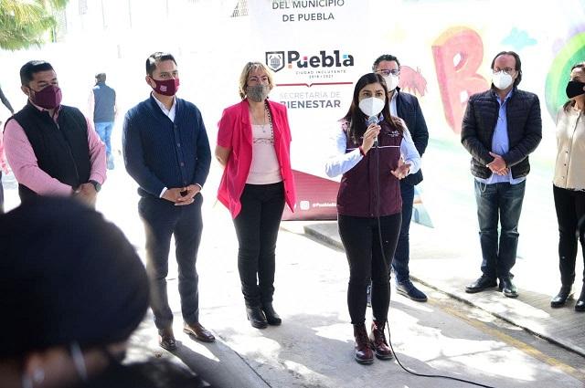 Dignifica Ayuntamiento de Puebla aulas en San Sebastián de Aparicio