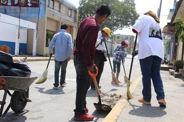 Sancionarán con trabajo comunitario conducta antisocial en Puebla