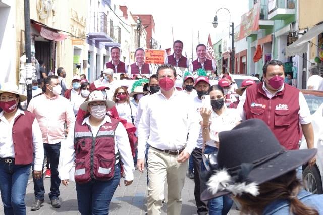 Llama Lorenzini a adversarios a sumarse a proyecto por San Pedro