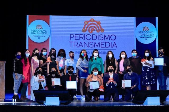 Entregan premios de certamen de Periodismo Transmedia en Puebla