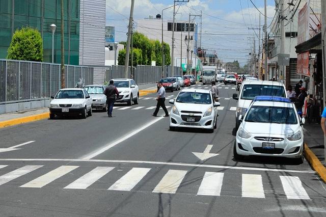 Relamina Ayuntamiento dos vialidades en San Alejandro