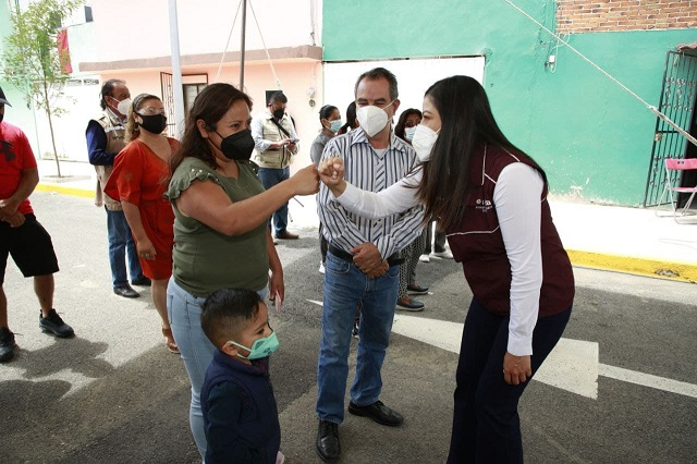 Ayuntamiento de Puebla entrega obras viales en Juntas Auxiliares