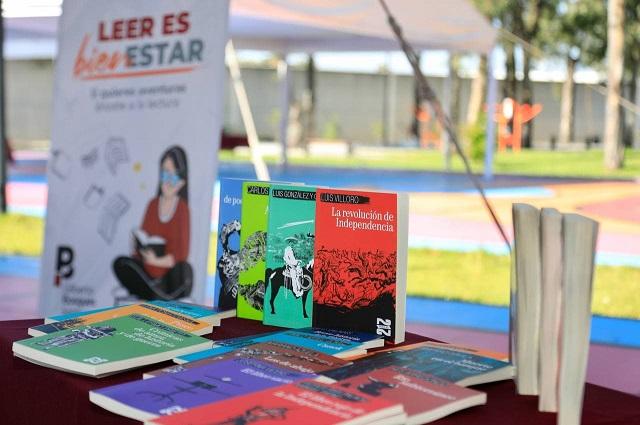 Arranca en Puebla capital entrega de libros gratuitos del FCE