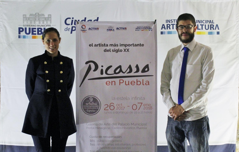 Pablo Picasso ¡en Puebla!