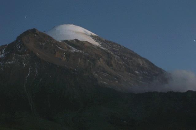 El Pico de Orizaba está en Puebla, según el Inegi