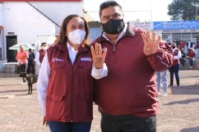 Araceli Tehuitzil suma a fuertes liderazgos sociales rumbo a la alcaldía