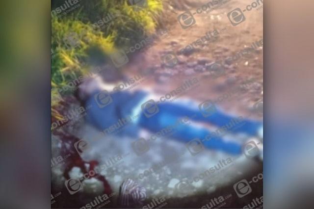 Con disparo en la cabeza, hallan cuerpo de hombre en Huauchinango